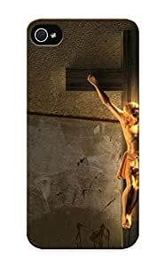For Iphone 5/5s Premium Tpu Case Cover Christiancreensavers Protective Case