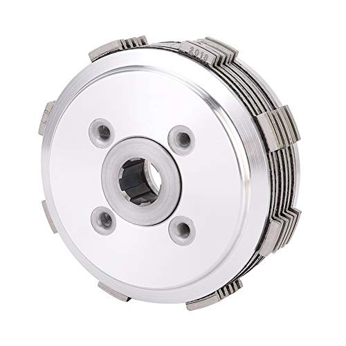Gorgeri Motorcycle Clutch Disc Plate Kit, Aluminum + Copper Clutch Disc Accessory for H onda CA250 CMX250: