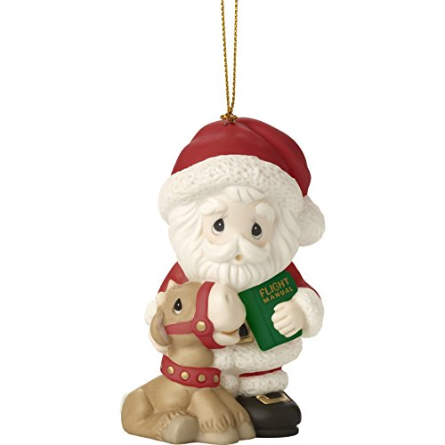 Kings Christmas 3 Costumes (Precious Moments Holiday Christmas Bisque Porcelain Hanging Ornament with S-Hook (All Things Are Possible If You Believe,)