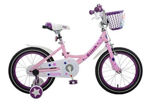 Stitch Angel Girl's Bike, 16 inch wheels, Pink