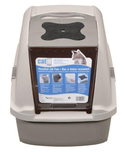 Catit-Hooded-Cat-Litter-Pan-Kit
