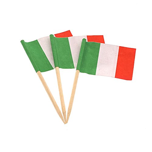 Royal Italian Flag Picks, Case of 14,400 by Royal