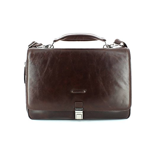 Blue Square Briefcase TESTA MORO