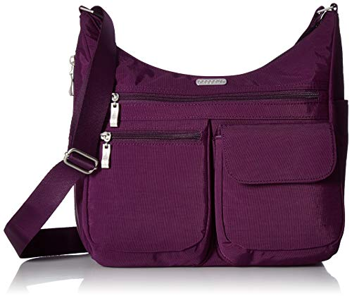 Baggallini Everywhere Bagg with Rfid, Eggplant, One Size by Baggallini