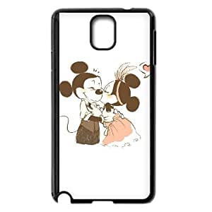 Samsung Galaxy Note 3 Cell Phone Case Black Disney Mickey Mouse Minnie Mouse wau