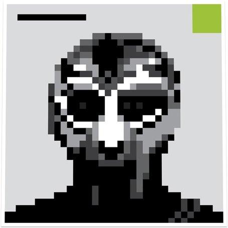Madvillain (MF Doom & Madlib) x Four Tet - 8-Bit Villain - Limited Edition 27