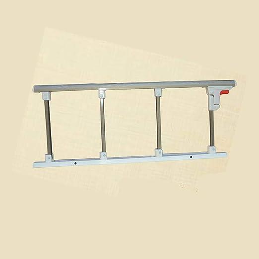 JIMI-I Valla de Aluminio Grueso, reposabrazos Plegables, Accesorios de Cama para el Cuidado de la Cama, Cerca Anti-caída para Personas Mayores: Amazon.es: Hogar