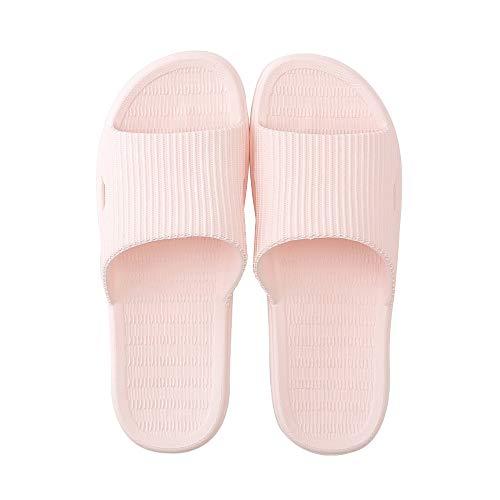 408d1c3f4851f Fogroup Spring Summer Home Slippers Indoor&Outdoor Anti-Slip Sandal Couple  Household Slipper Bathroom Sandals Pool Sandal (Women 7.5-8/EU 39-40, Pink)