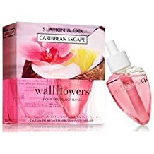 Bath & Body Works Wallflowers Home Fragrance Refill Bulbs 2 Pack Caribbean Escape