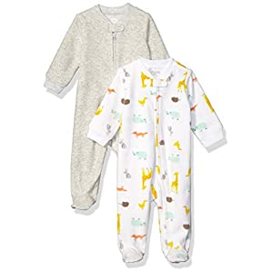 Amazon Essentials 2-Pack Microfleece Sleep and Play Mixte bébé 20