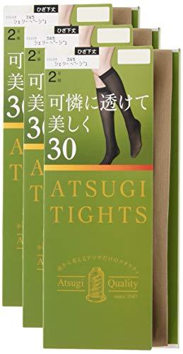 [아츠기(Atsugi)] 타이츠 아츠기 30denier 무릎길이 30D  2켤레조×3세트 레이디스 FS60302P