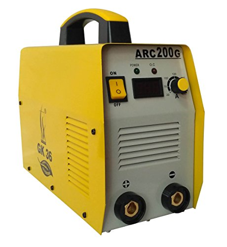 SPT Inverter Welding Machine Arc-200 Amps. With All Accessories – Yellow/Orange