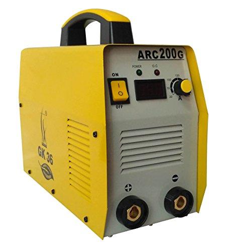 SPT Inverter Welding Machine Arc-200 Amps. With All Accessories – Yellow/Orange