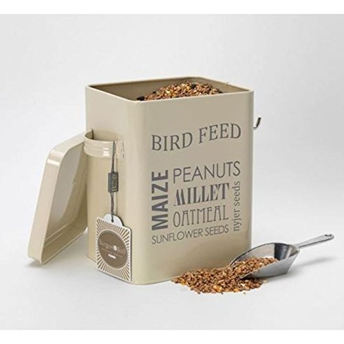 Burgon & Ball Bird Feed Tin - Jersey Cream (PACK OF 4) by Burgon & Ball