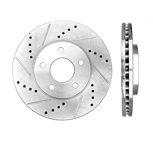 Callahan CDS02052 FRONT Premium Grade D/S 276 mm [2] Rotors Set [ for Chevrolet HHR 2006-2011 w/Rear Drum Brakes ]