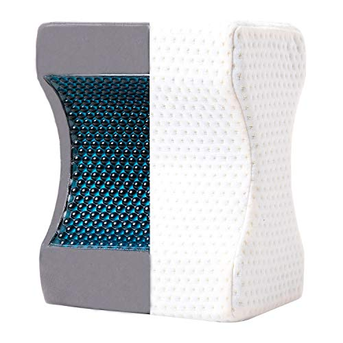 Cooling Gel Pregnancy Pillows - JuMeiHui Cooling Knee Pillow by Side
