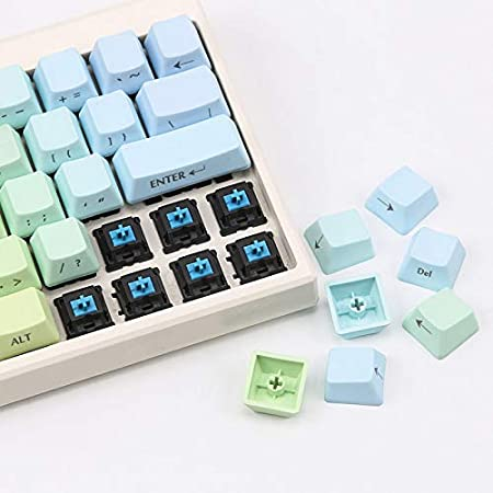 Side Engraving Characters,2 OEM Height Thick PBT keycap Mini Keyboard keycap SSSLG Mechanical Keyboard Key Cap 60/%