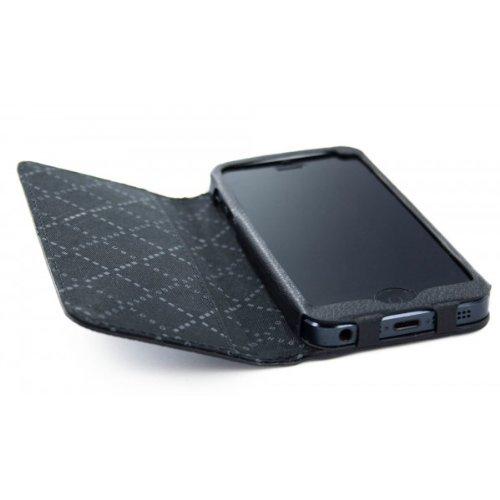 HUGO BOSS Folianti Booklet Case IPhone 5/5S Schwarz: Amazon.de ...