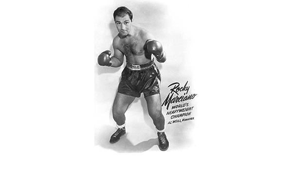 Boxing Legend Rocky Marciano 8x10 Photo #2