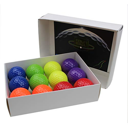 - Kofull Colored My Class Golf Balls Mini Golf Game Putter Balls Practice Range -Pack of 12