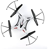 Lcyyo@ JJRC H31 Waterproof Headless Mode One Key Return 2.4G 4CH 6Axis RC Quadcopter RTF with 360° Rolling Action & High-speed Aerobatics & High-speed Rotation (White)