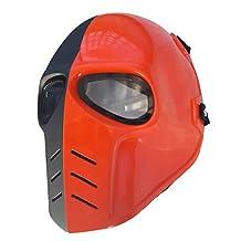 Invader King ™ Deathstroke Airsoft Mask Protective Gear Outdoor Sport Masks Bb Gun