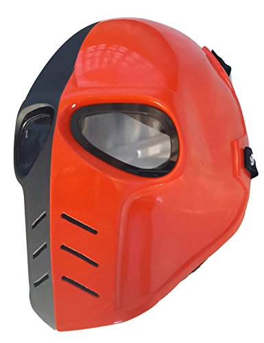 Airsoft Mask,Paintball Mask, Protective Gear,Deathstroke Full Face Mask,Outdoor Sport Fancy Party Masks by Eggs & Banana