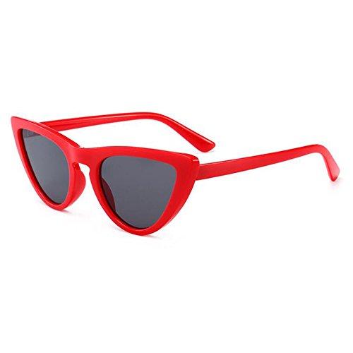 Cat Eye Triangle juqilu Cateye élégant de lunettes lunettes lunettes C5 petites UV400 Vintage soleil femmes rBXnqXT7xY