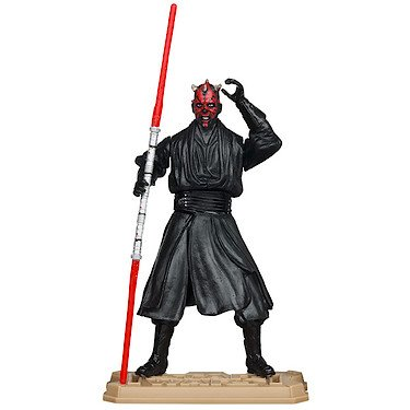 2012 Action Figure (Star Wars Movie Heroes 2012 Action Figure MH05 Darth Maul (With Slashing Lightsaber Action) 3.75 inch)