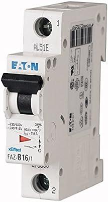 EATON FAZ-S20/1 Interruptor Automático Magnetotérmico FAZ, 20A, 1P, Curva S, Caja de 12: Amazon.es: Industria, empresas y ciencia