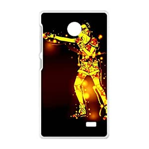 ORIGINE Fire Man Boxing Custom Protective Hard Phone Cae For Nokia Lumia X