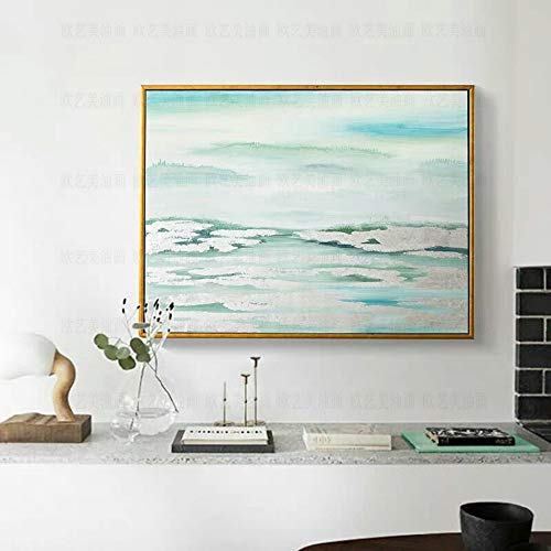 l Paintings,Landscape Style, Modern Abstract Sky Clouds, Painting On Canvas Art, Large Size Home Decor Wall Art, For Bedroom Living Room Bedside Restaurant Painting Without Frame,1 ()