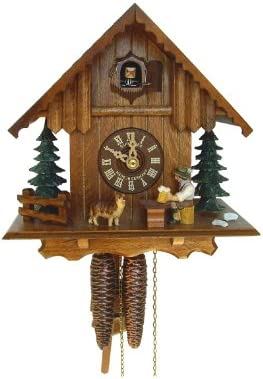 Schneider 8.5 Chalet Cuckoo Clock with Beer Drinker