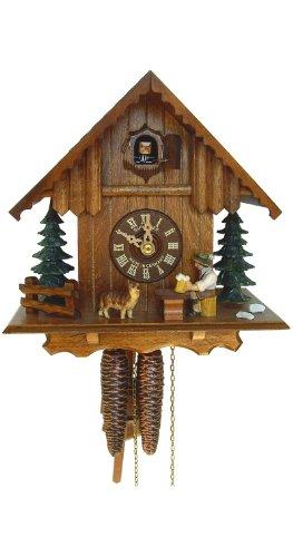 Schneider 8.5 Chalet Cuckoo Clock with Beer Drinker