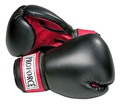 ProForce Leatherette Boxing Gloves White product image
