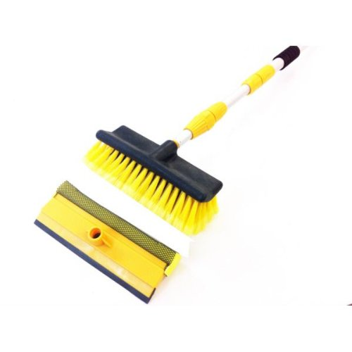 3m Extending water fed upstairs window cleaning Brush + SQUEEGE NS ct2840