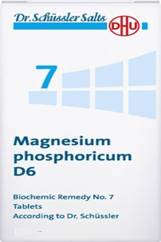 Dr. Schuessler salts 7 Magnesium phosphoricum D6 Cramps Spasms of muscles Pain 200 tbs by DHU (Best Magnesium For Muscle Cramps)