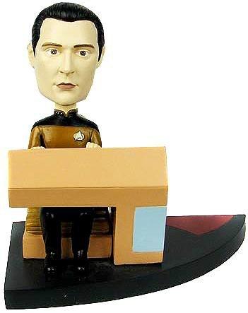 Data Bridge - Star Trek: TNG Data Build-a-Bridge Deluxe Bobble Head 7 of 8