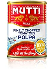 Mutti Finely Chopped Tomatoes (Polpa), 398 ml.