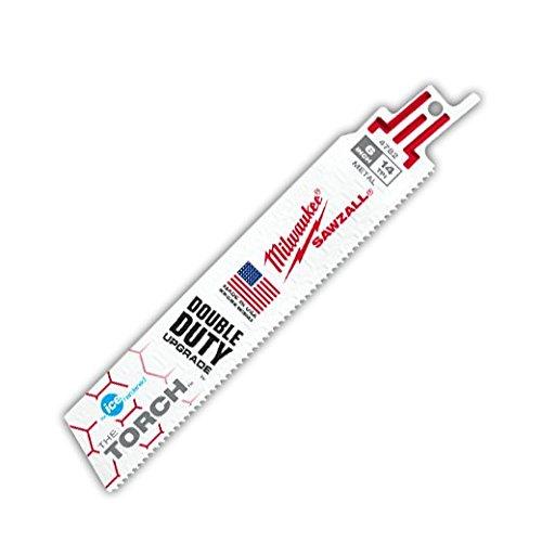 Milwaukee 48-01-8782 Sawzall Bl 14T 6Lg Ice Hardened torch (50 Pack)