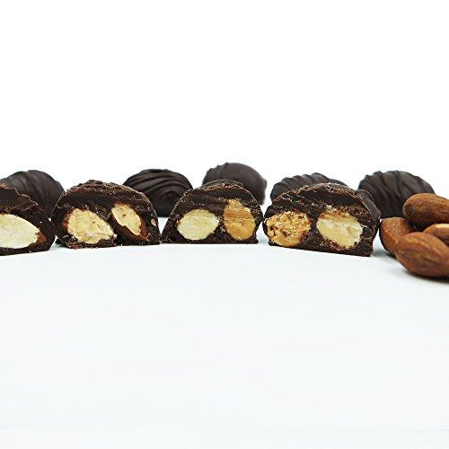 Philadelphia Candies Milk and Dark Chocolate Covered Nuts (Almond, Brazil, Cashew, Hazelnut, Macadamia, Peanut, Pecan, Walnut)