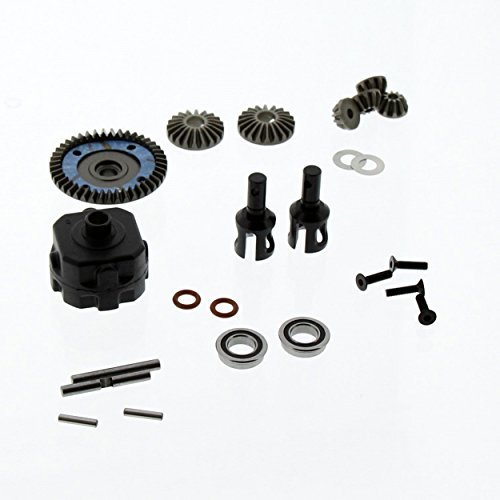 (Team Losi 8IGHT 4.0 Buggy 1/8: Front Diff/Differential, 43T Ring Gear, Outdrives by Team Losi)