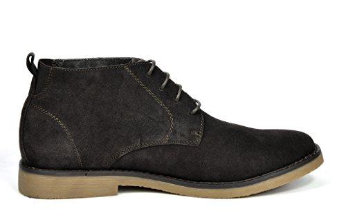 Chukka Leather Boots Classic Chukka brown NEW Original Men's MARC Suede Desert Storm YORK BRUNO dk PSwqv0T