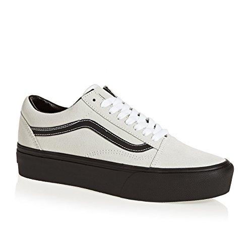 Vans Shoes UA Old Skool Platform Shoes - Blanc De Blanc/~Black blanc de blanc/black
