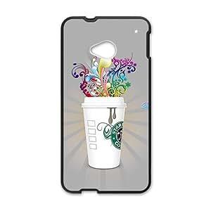 ORIGINE Starbucks design fashion cell phone case for HTC One M7