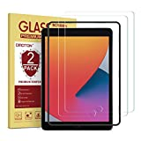 [2 Pack] OMOTON Screen Protector for iPad 8th 7th