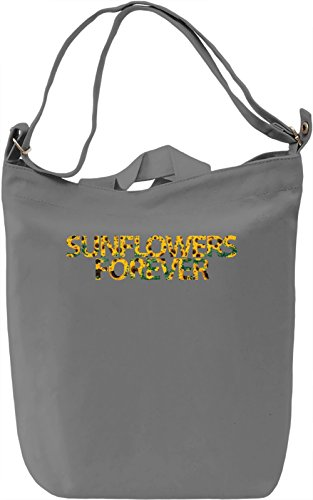 Sunflowers Forever Borsa Giornaliera Canvas Canvas Day Bag| 100% Premium Cotton Canvas| DTG Printing|