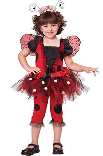 Lovely Ladybug Insect Dress Up Toddler (Lady Luck Costume Plus Size)