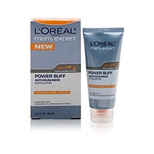 L'Oreal Mens Expert Power Buff Anti-Roughness Exfoliator 2 oz. by L'Oreal Paris