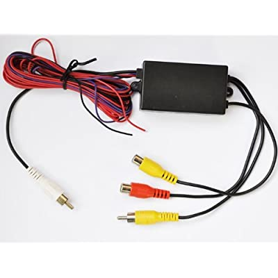 Intelligent Car Video Switcher 3-way Input 1-way Output for the Car Camera: Car Electronics